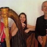 Photo du Trio Vermeil avec leurs instruments