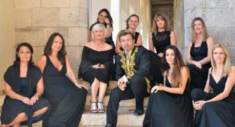 Les Ladies Ochestra avec Jacques Fredenucci