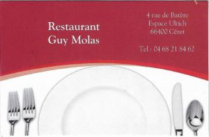Restaurant Molas Ceret
