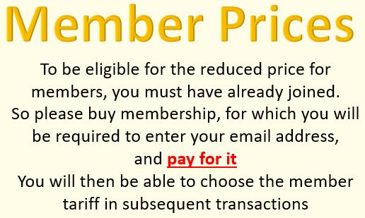 Note about prices for members