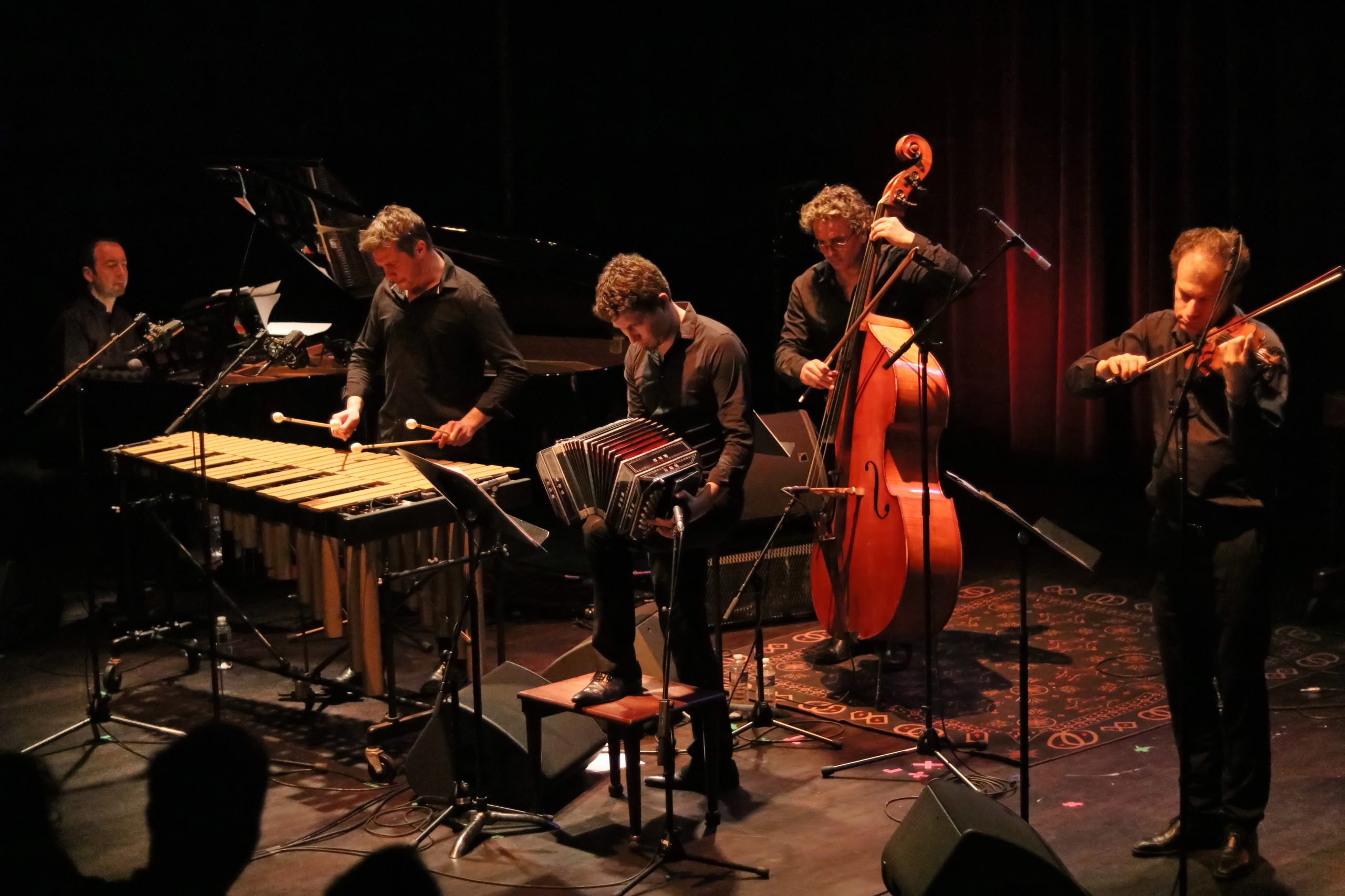 Quatuor Caliente avec Vincent Maillard