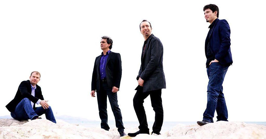 Photo du Quatuor Caliente