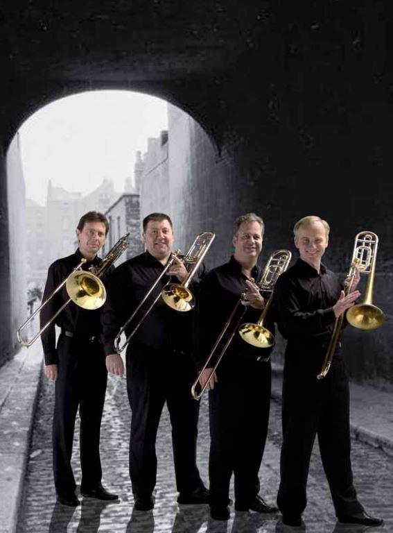 """Photo du Quatuor trombones """"Trombonissimo"""""""